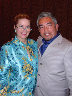Liz and Cesar Milan